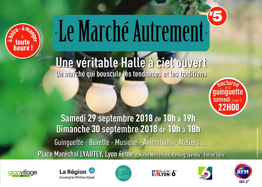*** 29 et 30 Septembre 2018 – MARCHE AUTREMENT à Lyon