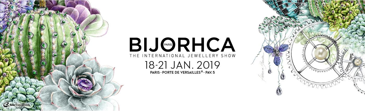 Salon BIJORHCA du 18 au 21 Janvier 2019